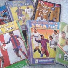 Cromos de Fútbol: MUNDICROMO FICHAS LIGA LOTE ALBUMES Y CROMOS 2000 2001 2003 2005 AS 2011. IMPORTANTE LEER. Lote 58517621