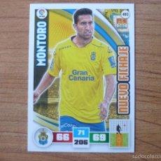 Cromos de Fútbol: ADRENALYN XL 2015 2016 PANINI Nº 493 MONTORO (LAS PALMAS) NUEVO FICHAJE - LIGA 15 16. Lote 194888975