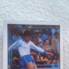 Cromos de Fútbol: FUTBOL LIGA 85-86 LISEL. REAL ZARAGOZA CONDE. Lote 58661872