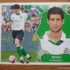 Cromos de Fútbol: ESTE 2008 2009 PANINI MORA (RACING SANTANDER) - SIN PEGAR - CROMO FUTBOL LIGA 08 09 . Lote 74617373