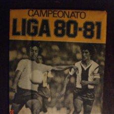 Cromos de Fútbol: SOBRECITO SIN ABRIR LIGA 80 - 81 ESTE . Lote 103824674