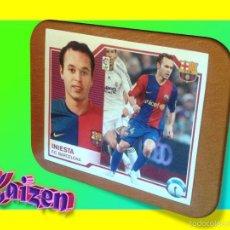 Cromos de Fútbol: INIESTA. BARCELONA. SIN PEGAR. EDICIONES ESTE 2007/08. 07/08. Lote 245109630