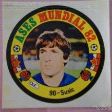 Cromos de Futebol: CROMO DE FÚTBOL:SUSIC DE YUGOSLAVIA,(SIN PEGAR),Nº 90,MUNDIAL ESPAÑA 82,DE REYAUCA. Lote 186668305