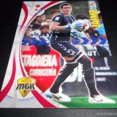 Cromos de Fútbol: MGK 166 JAIME S.D. EIBAR CROMOS ALBUM MEGACRACKS LIGA FUTBOL 2015 2016 15 16. Lote 269188146