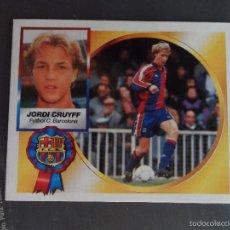 Cromos de Fútbol: JORDI CRUYFF COLOCA DEL BARCELONA ALBUM ESTE LIGA 1994 - 1995 ( 94 - 95 ). Lote 269463678