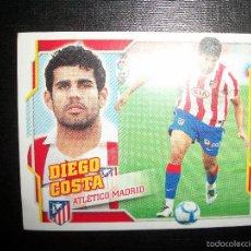 Cromos de Fútbol: DIEGO COSTA ATLETICO MADRID ULTIMOS FICHAJES FICHAJE Nº 38 ALBUM ESTE LIGA 2010 - 2011 ( 10 - 11 ). Lote 198814142