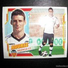 Cromos de Fútbol: ADURIZ DEL VALENCIA ULTIMOS FICHAJES FICHAJE Nº 17 ALBUM ESTE LIGA 2010 - 2011 ( 10 - 11 ). Lote 198813843