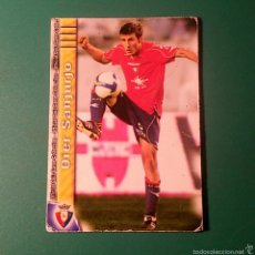 Cartes à collectionner de Football: CROMO MUNDICROMO LIGA 2009-2010 N°389 OIER SANJURJO (OSASUNA). Lote 60656791