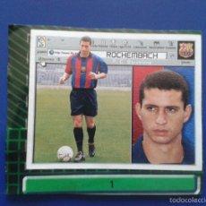 Cromos de Fútbol: CROMOS EDICIONES ESTE LIGA 01 02 2001 2002 CROMO RECORTADO FICHAJE Nº 1 ROCHEMBACH BARCELONA. Lote 61025963