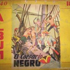 Cromos de Fútbol: ALBUM CUBANO CROMOS COMPLETO CORSARIO NEGRO CONTRA LOS PIRATAS DE LA MUERTE CUBA LA HABANA. Lote 55610010