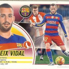 Cromos de Fútbol: CROMO ESTE PANINI 2016 - 17 - (16 - 17) Nº 3 - ALEIX VIDAL (BARCELONA) LOGO SANTANDER. Lote 92290458