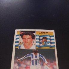 Fußball-Sticker - CROMOS ESTE 90 / 91 - CROMO REAL SOCIEDAD 1990 / 1991 - FUENTES - 61756676