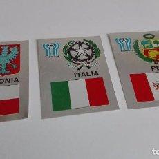 Cromos de Fútbol: MUNDIAL ARGENTINA. 3 CROMOS MAGA LIGA 78-79 Y MUNDIAL ARGENTINA. Lote 62072560