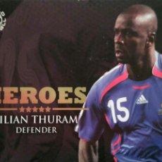 Cromos de Futebol: HER43 LILIAN THURAM - FRANCIA - FUTERA HEROES 2009 2010 - WORLD FOOTBALL ONLINE COLLECTION SERIES 1. Lote 62293472
