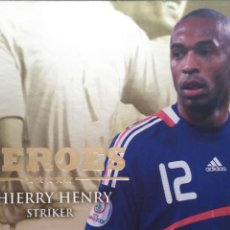 Cromos de Futebol: HERSP21 THIERRY HENRY - FRANCIA - HEROES SPECIAL EDITION FUTERA 2010 2011 WORLD FOOTBALL ONLINE SER2. Lote 62294376