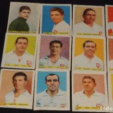 Cromos de Fútbol: LOTE DE 12 CROMOS SEVILLA. ALBUM FUTBOL BRUGUERA 1943-1944. SI USO. 7,5 X 6 CTMS.. Lote 62339472
