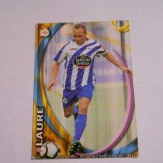 Cromos de Fútbol: CROMO LAURE. DEPORTIVO DE LA CORUÑA. LIGA 2011. MUNDI CROMO TDKP8. Lote 62371040