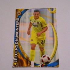 Cromos de Fútbol: CROMO JEFFERSON MONTERO. VILLARREAL C.F. LIGA 2011. MUNDI CROMO. TDKP8. Lote 62371320
