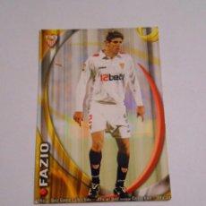 Cromos de Fútbol: CROMO FAZIO SEVILLA F.C. LIGA 2011. MUNDI CROMO. TDKP8. Lote 62372684