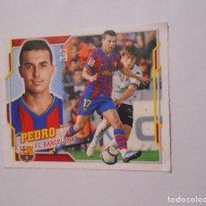 Cromos de Fútbol: CROMO PEDRO RODRIGUEZ. F.C. BARCELONA. LIGA 2010/2011. EDICIONES ESTE. TDKP8. Lote 62419680