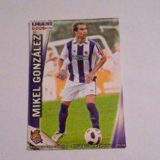 Cromos de Fútbol: CROMO MIKEL GONZALEZ REAL SOCIEDAD. LIGA 2012. MUNDI CROMO. TDKP8. Lote 62420484