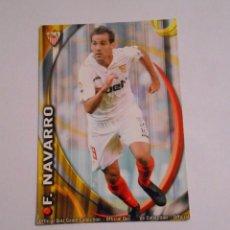 Cromos de Fútbol: CROMO CARTA FERNANDO NAVARRO. SEVILLA F.C. LIGA 2011. MUNDICROMO. TDKP8. Lote 62421812