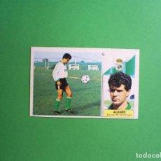 Cromos de Fútbol: ALVARO - RACING DE SANTANDER - EDICIONES ESTE - 1986 1987 86 87 - NUNCA PEGADO. Lote 62429832