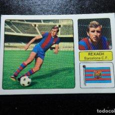 Cromos de Fútbol: REXACH DEL BARCELONA ALBUM FHER LIGA 1973 - 1974 ( 73 - 74 ) NUNCA PEGADO. Lote 228269202
