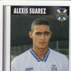 Cromos de Fútbol: ALEXIS SUAREZ (C.D. TENERIFE) - SUPERGOL - LIGA FÚTBOL 95-96 - FOURNIER - MARCA.. Lote 208283702