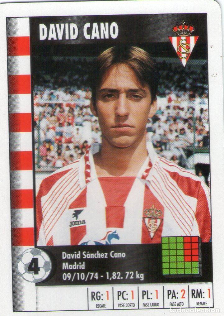 david cano (sporting de gijón) - supergol - lig - Comprar Cromos de ... 851b06cd524c0