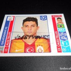 Cromos de Futebol: 293 ALEX TELLES GALATASARAY AS CROMOS ALBUM UEFA CHAMPIONS LEAGUE 2014 2015 14 15 PANINI. Lote 73505558