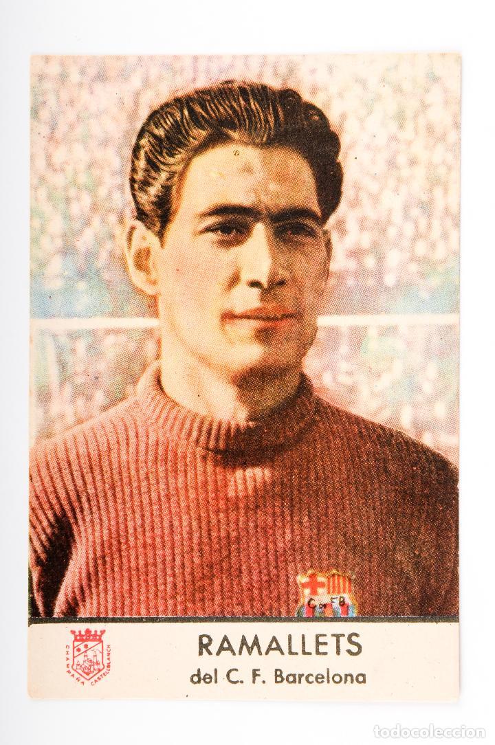Cromos de Fútbol: COLECCION COMPLETA 11 CROMOS DEL F.C.BARCELONA- RAMALLETS-KUBALA- - Foto 3 - 262909095
