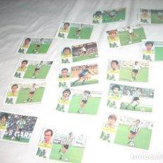 Cromos de Fútbol: LOTAZO DE CROMOS DEL RACING DE SANTANDER ,SIN PEGAR LIGA 1982-83 DE ESTE . Lote 63331028