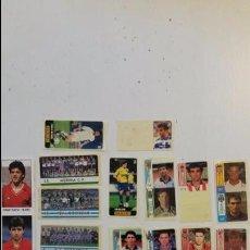 Cromos de Fútbol: LOTE DE PEGATINAS DE CHICLE Y REVILLA DE FUTBOL LIGA ESPAÑOLA ANTIGUOS REF 16. Lote 63367344