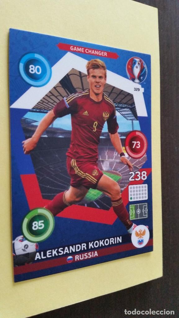 PANINI ADRENALYN XL France 2016-329 Game Changer-Aleksandr Kokorin
