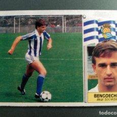 Cromos de Fútbol: BENGOECHEA COLOCA R.SOCIEDAD ED.ESTE 86 87. NUNCA PEGADO. Lote 63493756