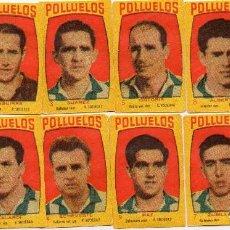 Cromos de Fútbol: REAL SOCIEDAD, DEL ALBUM LOS POLLUELOS Nº 5. 1955-56 DE 16 EQUIPOS. DE NOVELDA ALICANTE. Lote 63527156