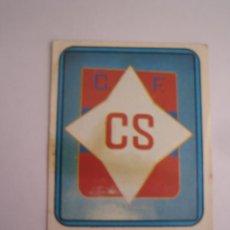 Cromos de Fútbol: 1 CROMO COLECCION FUTBOL 75 76 EDICIONES VULCANO Nº 283 ESCUDO CF CALVO SOTELO NUNCA PEGADO. Lote 63769787