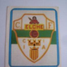 Cromos de Fútbol: 1 CROMO COLECCION FUTBOL 75 76 EDICIONES VULCANO Nº 75 ESCUDO ELCHE CLUB FUTBOL NUNCA PEGADO. Lote 63769847