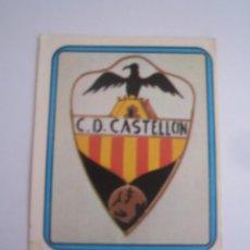 Cromos de Fútbol: 1 CROMO COLECCION FUTBOL 75 76 EDICIONES VULCANO Nº 284 ESCUDO CASTELLON NUNCA PEGADO. Lote 63769875