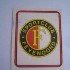 Cromos de Fútbol: 1 CROMO COLECCION FUTBOL 75 76 EDICIONES VULCANO Nº 316 ESCUDO FEYENOORD NUNCA PEGADO. Lote 63769891