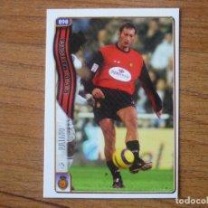 Cromos de Fútbol: MUNDICROMO FICHAS LIGA 2005 Nº 898 + IULIANO (MALLORCA) FICHAJE - FUTBOL 2004 05. Lote 63823899