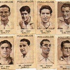 Cromos de Fútbol: SEVILLA, DEL ALBUM AZAFRAN LOS POLLUELOS Nº 1,1943-44.NOVELDA ALICANTE. Lote 64030915