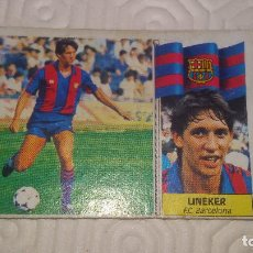Cromos de Fútbol: LINEKER. F.C.BARCELONA EDI ESTE 86 87 NUNCA PEGADO. Lote 64114479