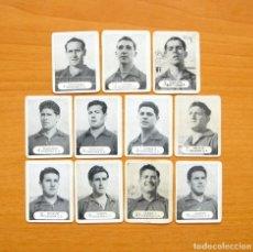 Cromos de Futebol: OSASUNA - IMPRENTA MOLINA 1957-1958, 57-58 - 11 CROMOS - NUNCA PEGADOS. Lote 64294559