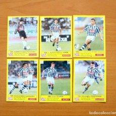 Cromos de Fútbol: REAL SOCIEDAD - DIARIO AS LIGA 1995-1996, 95-96 - 6 CROMOS NUNCA PEGADOS. Lote 64588131