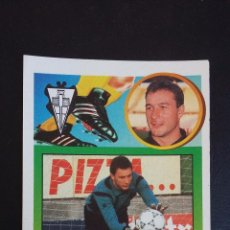 Figurine di Calcio: ESTE 93/94 1993/1994 - ALBACETE BALOMPIE - BALAGUER - ADHESIVO - ( NUNCA PEGADO ). Lote 64627159
