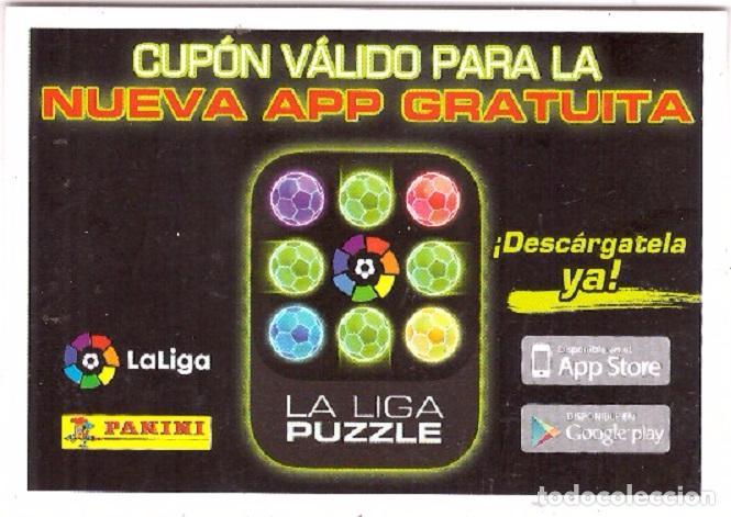 2015-2016, ESTE: CUPON VALIDO PARA LA NUEVA APP GRATUITA (Coleccionismo Deportivo - Álbumes y Cromos de Deportes - Cromos de Fútbol)