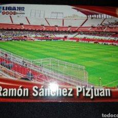 Cromos de Fútbol: CROMO FÚTBOL ESTADIO RAMON SANCHEZ PIZJUAN / SEVILLA / LIGA 2012 / 91. Lote 66169149