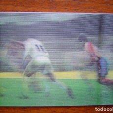 Cromos de Fútbol: ALKORTA ( REAL MADRID ) - NÚMERO 15 DE VIDEO-CARDS LIGA 96/97 DE PANINI. Lote 66988486